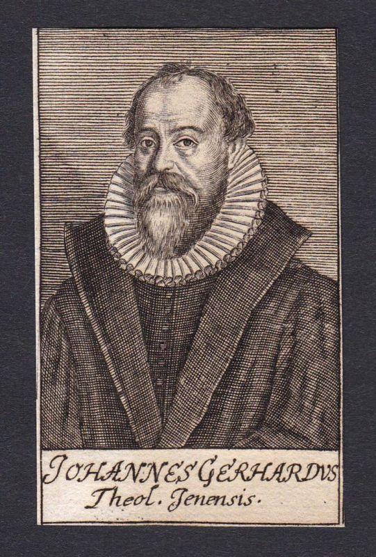 Johannes Gerhardus / Johann Gerhard / theologian Theologe Jena