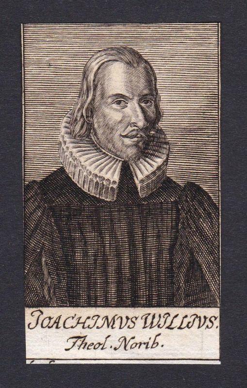 Joachimus Willius / Joachimus Willius / theologian Theologe Nürnberg