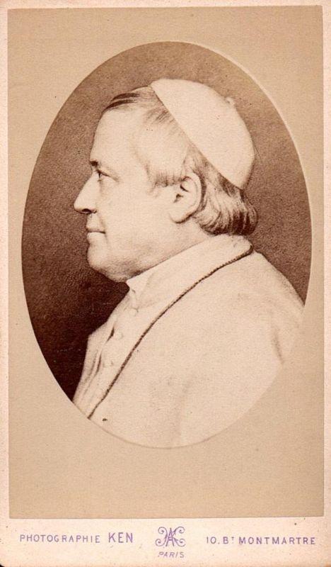 Pius IX (1792-1878) - Papst pope pape Portrait CDV Foto Photo vintage