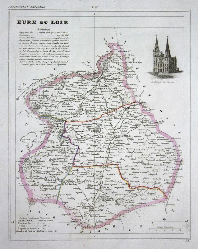 Eure et Loir - Eure-et-Loir France Frankreich Rouen département ...