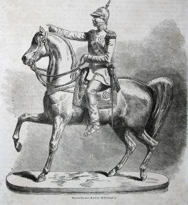 Reiterstatue Kaiser Nikolaus I - Nikolaus I. Pawlowitsch Nicholas I of Russia Kaiser emperor Russland Russia R