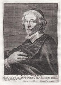 Adam Willaerts - Adam Willaerts Maler painter Portrait Kupferstich copper engraving antique print