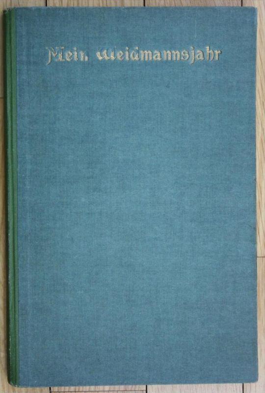 Mein Waidmannsjahr Jagd Jäger Jahrbuch Breslau Wroclaw Kalender