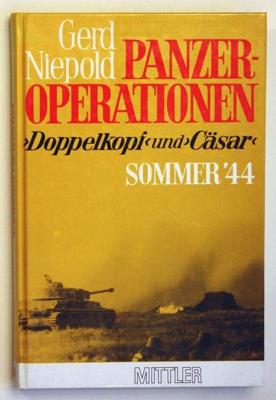 Panzer-Operationen - >Doppelkopf< und >Cäsar< - Kurland-Sommer '44