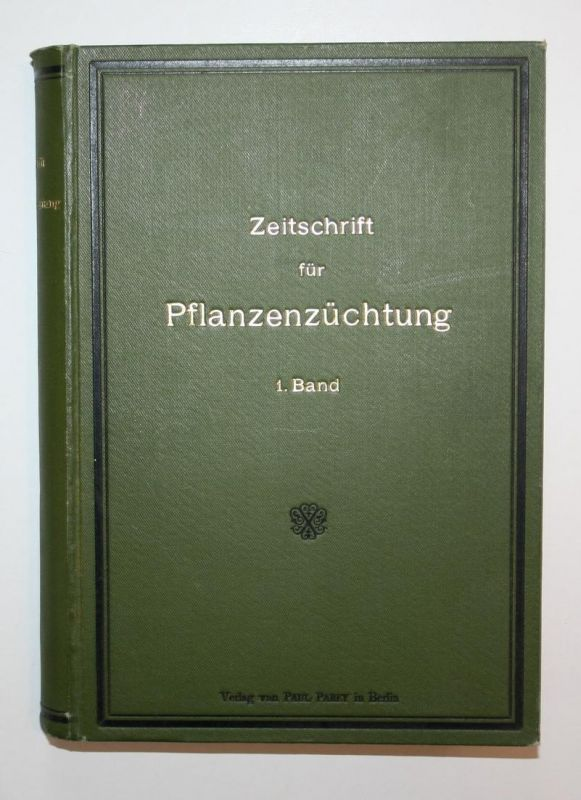 Zeitschrift für Pflanzenzüchtung. 1. Band.