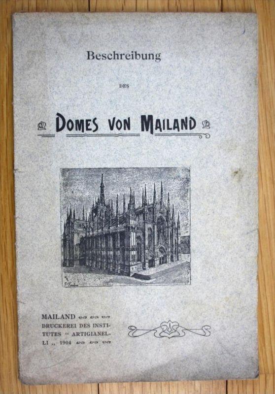 Beschreibung des Domes von Mailand