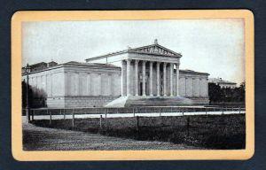 Kustausstellung Alte Pinakothek München original Foto photo CDV