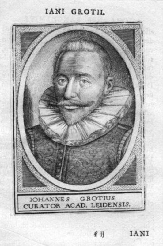 Jan de Groot Leiden Holland Portrait Kupferstich gravure
