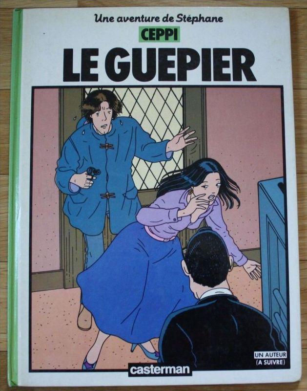 Ceppi - Le Guepier - Comic Adventure - 1984
