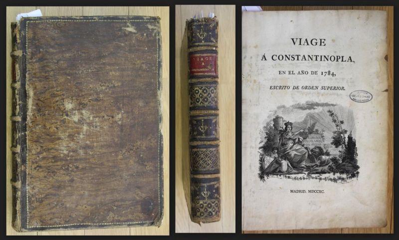 Viage a Constantinopla en el Ano de 1784. 0