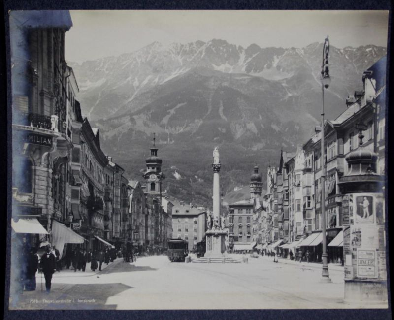 Innsbruck Theresienstraße Tirol Foto photo Fotografie photography