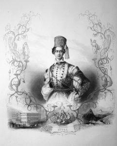 Otto I. - König von Griechenland - Otto Friedrich Ludwig von Wittelsbach König Griechenland Greece king Portra