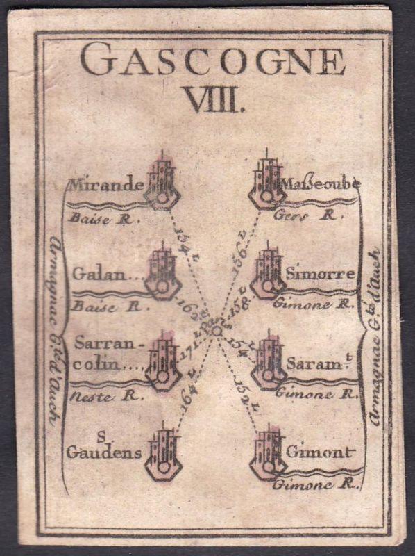 Gascogne VIII. - Gascogne Frankreich France Mirande Galan Simorre Sarrancolin Saran Saint-Gaudens Gimont Origi