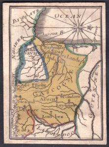Gascogne - Gascogne Frankreich France Original 18th century playing card carte a jouer Spielkarte cards cartes