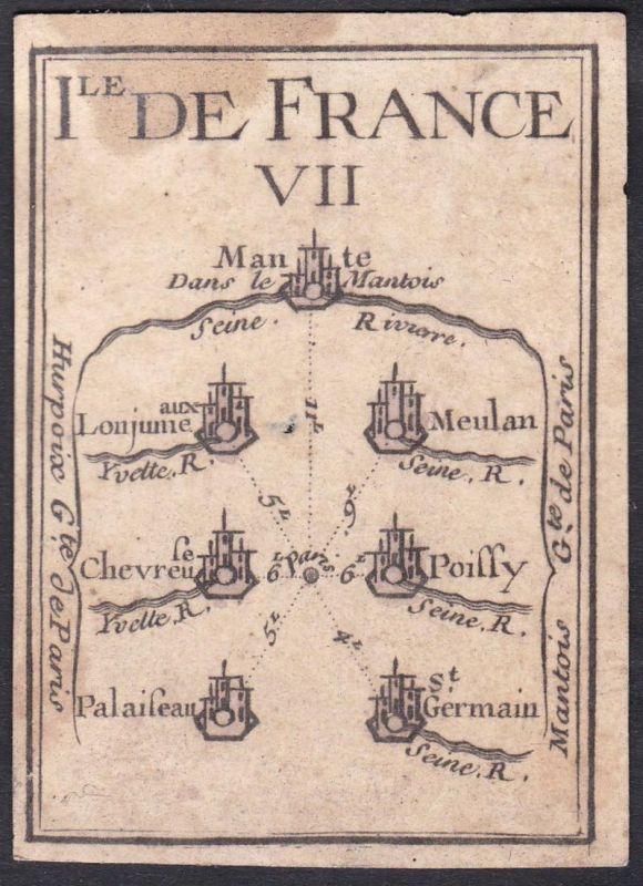 Ile de France VII. - Île-de-France Frankreich France Mantes-la-Jolie Meulan-en-Yvelines Chevreuse Poissy Palai