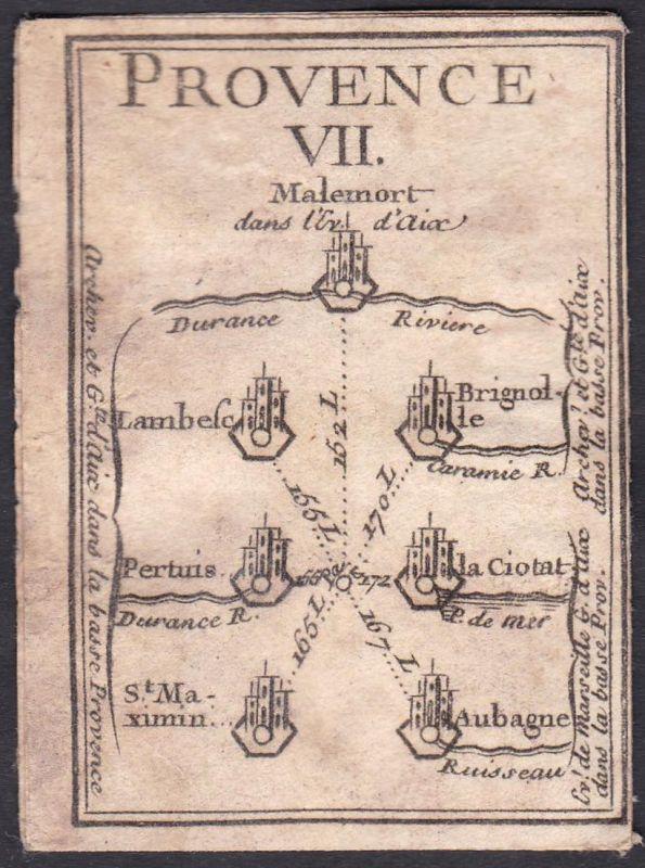 Provence VII. - Provence Frankreich France Malemort-du-Comtat Lambesc Brignoles Saint-Maximin-la-Sainte-Baume