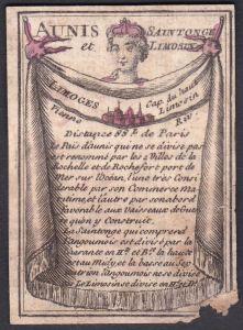 Aunis et Saintonge Limosin - Limoges - Limoges Limousin Frankreich France Aigrefeuille-d'Aunis Original 18th c