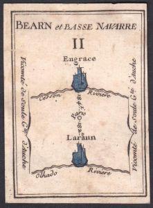 Bearn et Basse Navarre II. - Béarn Nieder-Navarra Frankreich France Sainte-Engrâce Larrau Original 18th centur