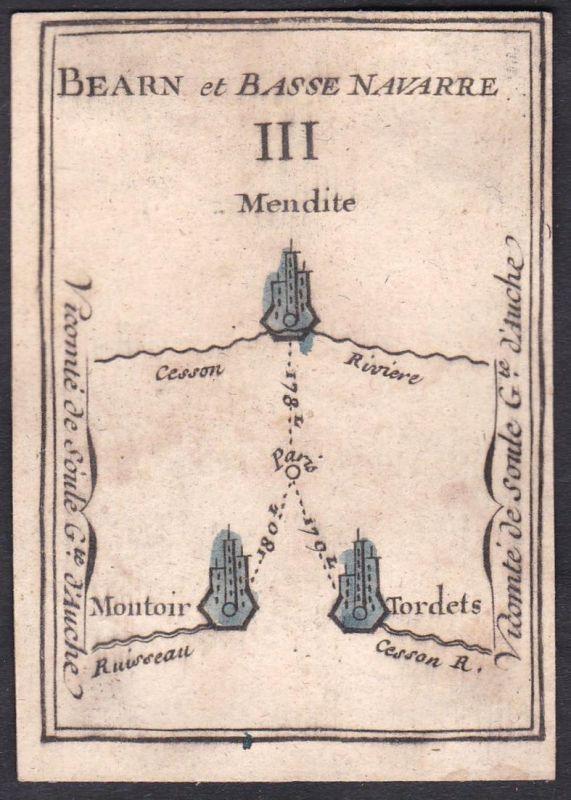 Bearn et Basse Navarre III. - Béarn Nieder-Navarra Frankreich France Menditte Montoir-de-Bretagne Tordères Ori
