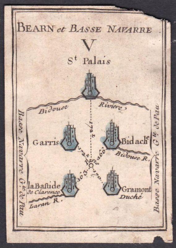 Bearn et Basse Navarre V. - St. Palais - Saint-Palais Nieder-Navarra Frankreich France Garris Bidache La Basti