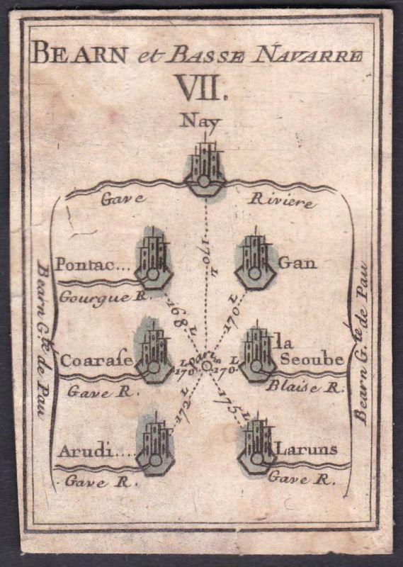Bearn et Basse Navarre VII. - Béarn Nieder-Navarra Frankreich France Nay Gourgue Gan La Séoube Arudy Laruns Or 0