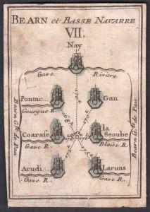Bearn et Basse Navarre VII. - Béarn Nieder-Navarra Frankreich France Nay Gourgue Gan La Séoube Arudy Laruns Or