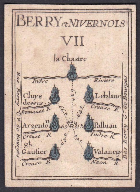 Berry et Nivernois VII. - Nivernais Frankreich France Le Blanc Argenton-sur-Creuse Palluau Saint-Gaultier Vale