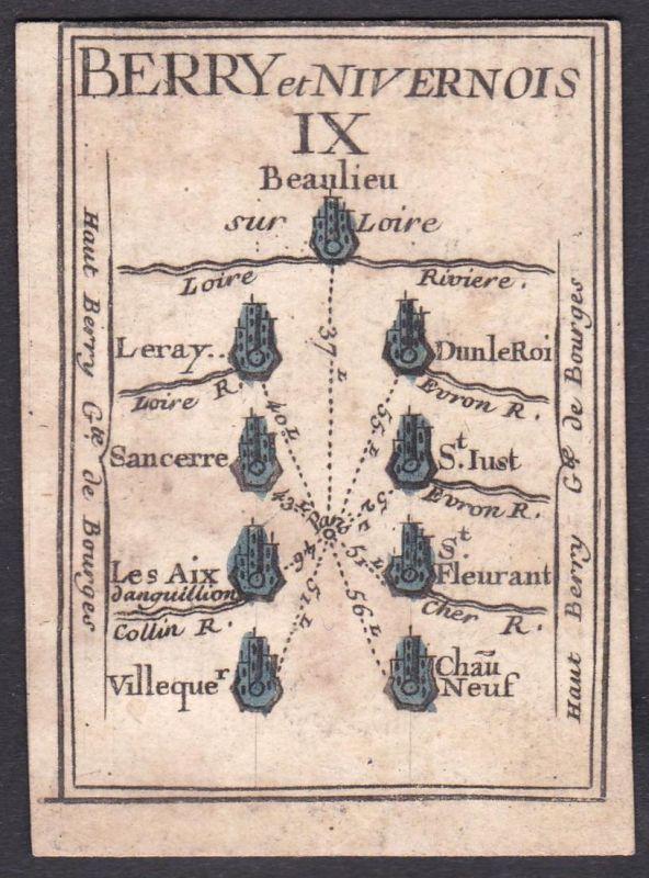 Berry et Nivernois IX. - Nivernais Frankreich France Sancerre Saint-Just Lucenay-lès-Aix Saint-Florent Villequ