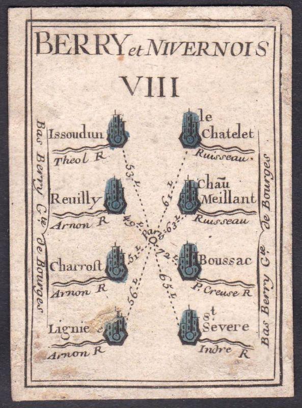 Berry et Nivernois VIII. - Nivernais Frankreich France Issoudun Le Châtelet Reuilly Chârost Boussac Ligné Sain
