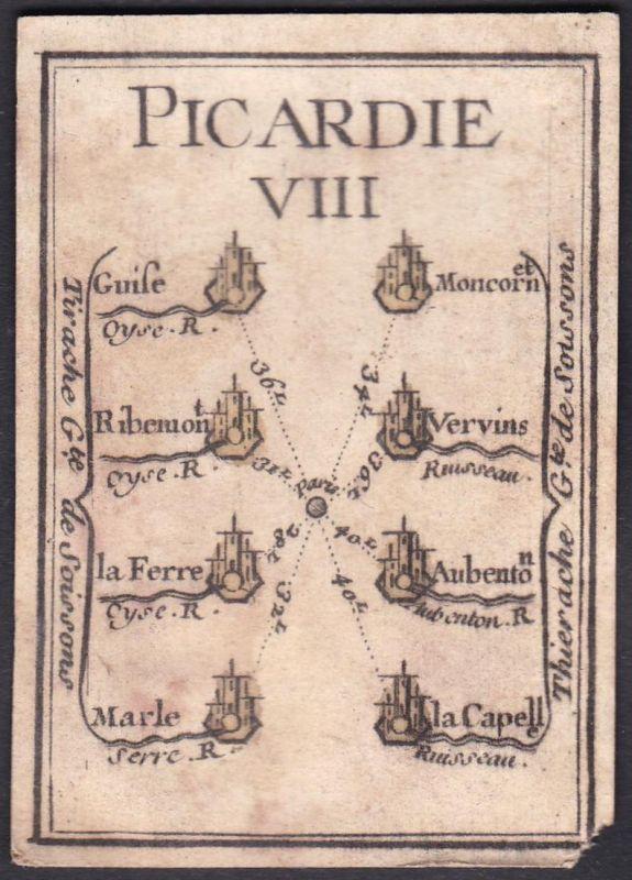Picardie VIII. - Picardie Frankreich France Guise Montcornet Ribemont Vervins Le Ferré Aubenton Marle La Capel