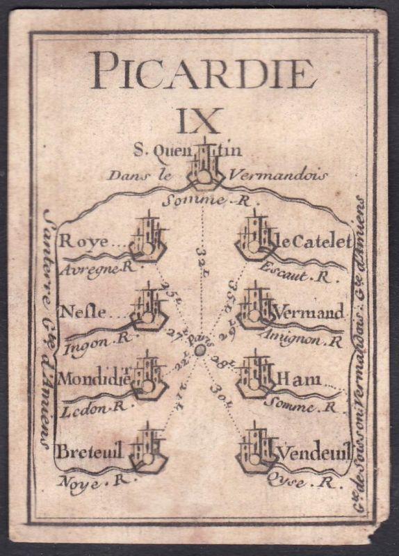 Picardie IX. - Picardie Frankreich France Roye Le Catelet Nesle Vermand Montdidier Ham Breteuil Vendeuil Origi