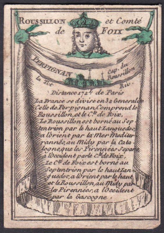 Roussillon et Comte de Foix - Perpignan - Roussillon Foix Perpignan Frankreich France Perpignan Original 18th