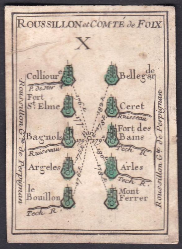 Roussillon et Comte de Foix - Foix Roussillon Frankreich France Bellegarde-sur-Valserine Fort Saint-Elme Céret