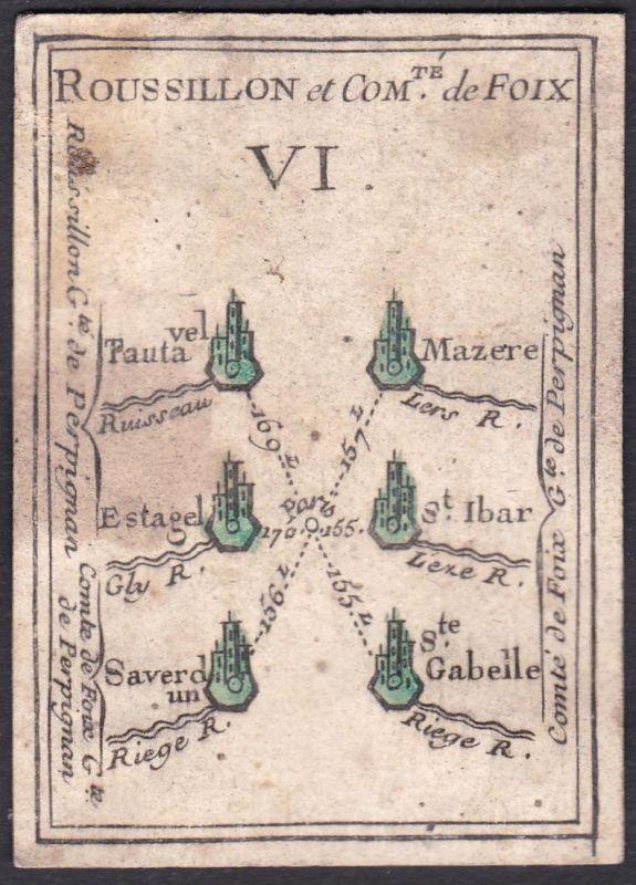 Roussillon et Comte de Foix VI. - Roussillon Foix Frankreich France Tautavel Mazères Estagel Saint-Ybars Saver
