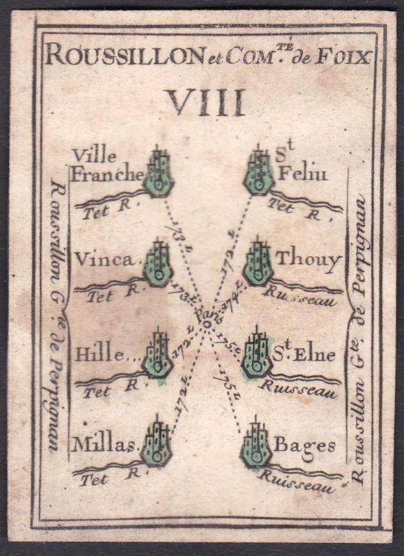 Roussillon et Comte de Foix VIII. - Roussillon Foix Frankreich France Villefranche-sur-Mer Saint-Féliu-d'Avall