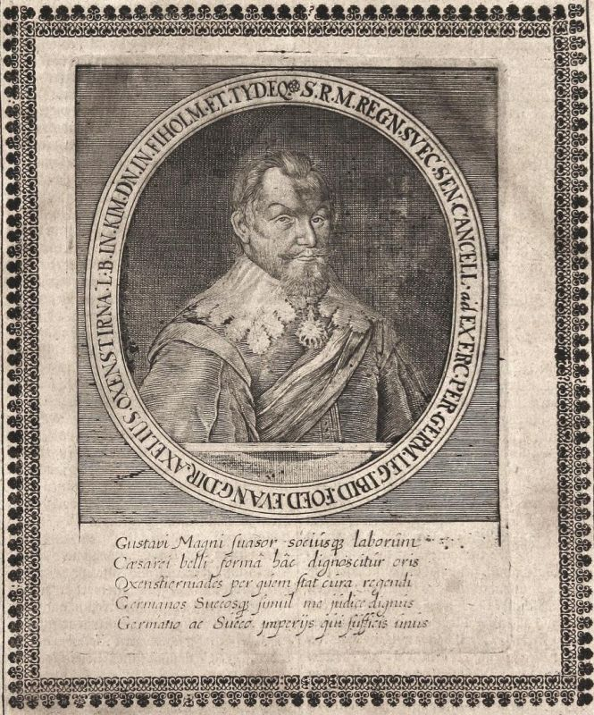 Gustavi Magni - Gustav II. Adolf Schweden Sverige Sweden König king gravure Portrait Kupferstich copper engrav 0