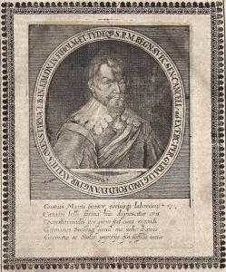 Gustavi Magni - Gustav II. Adolf Schweden Sverige Sweden König king gravure Portrait Kupferstich copper engrav