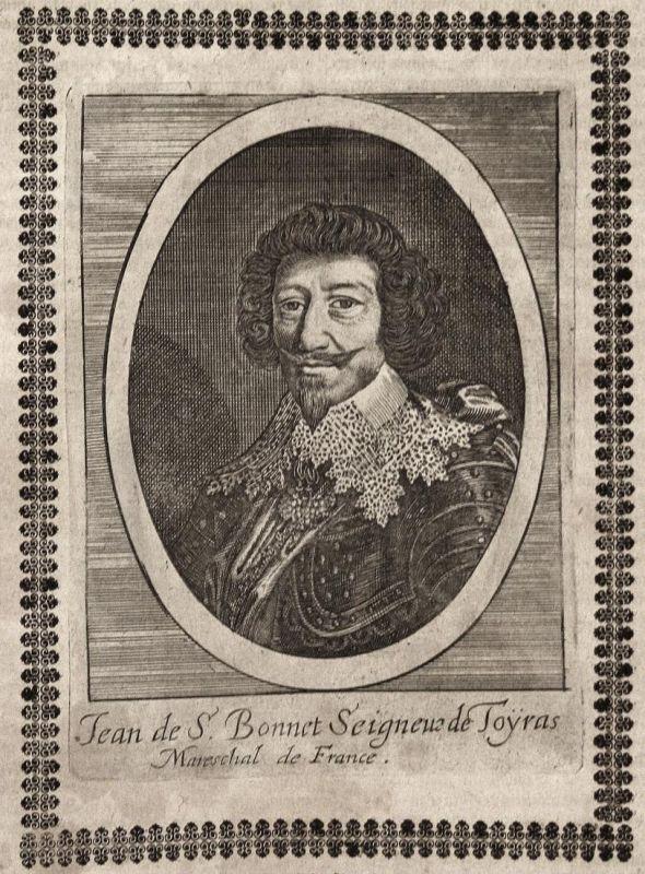Jean de S. Bonnet Seigneur de Toyras - Jean de Saint-Bonnet de Toiras Marschall Frankreich France marshal grav 0