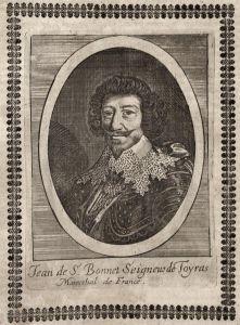 Jean de S. Bonnet Seigneur de Toyras - Jean de Saint-Bonnet de Toiras Marschall Frankreich France marshal grav