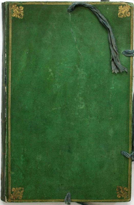 Journal de mon voyage en France avec l'Empereur Joseph en 1777. Manuscript. Handschrift. 0