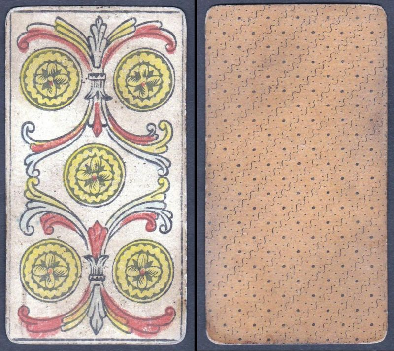 Original 18th century playing card / carte a jouer / Spielkarte - Tarot