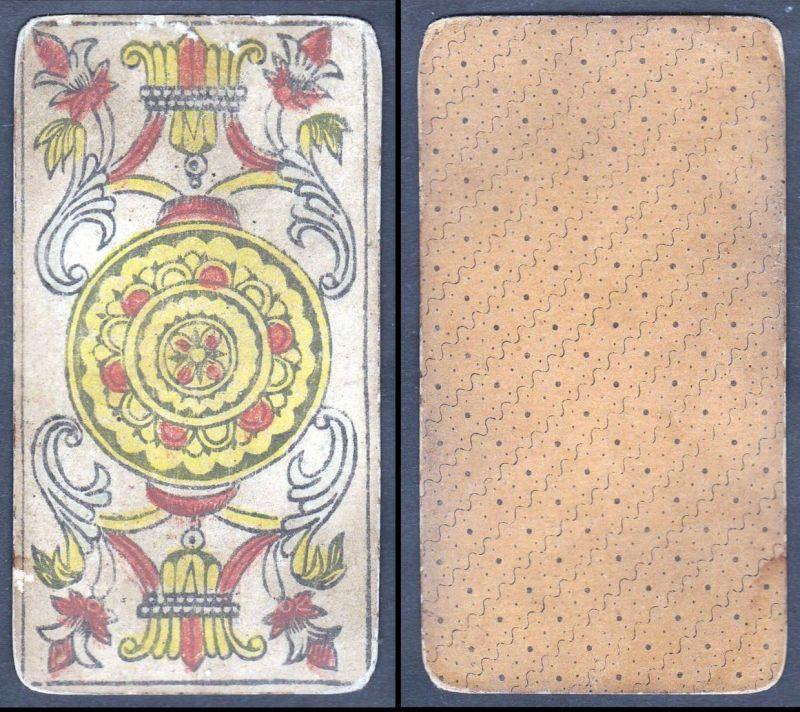 Original 18th century playing card / carte a jouer / Spielkarte - Tarot