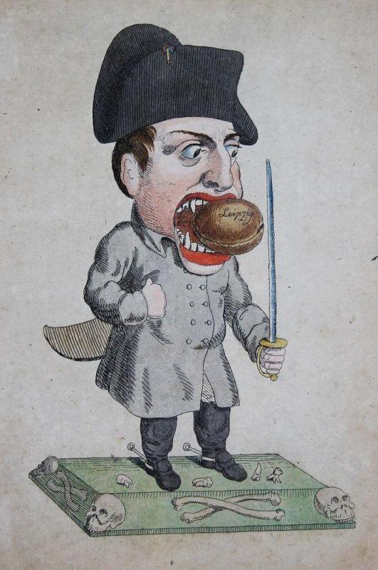 (Der Pariser Nussnacker) - Napoleon Bonaparte nutcracker Nussknacker Battle of Leipzig Battle of Nations Portr