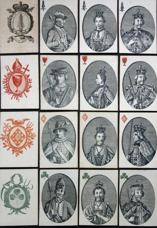 Monarchs of Europe -  playing cards Spielkarten cartes à jouer Kartenspiel game Spiel jeu Spiele games