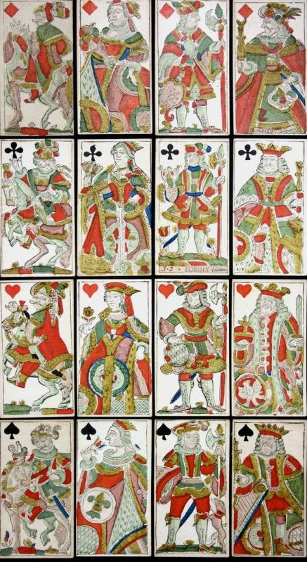 Jeu de tarot -  Belgian Tarot playing cards Spielkarten cartes à jouer Belgium Belgien Kartenspiel game Spiel