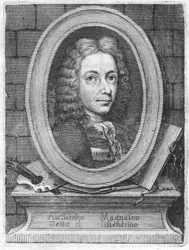Alessandro Magnasco detto il lissandrino - Alessandro Magnasco Italien Italia Maler painter Portrait Kupfersti