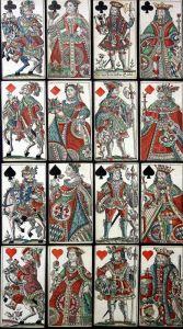 Baierische Hochzeit - Bayern Bavaria Hochzeit wedding Tarot playing cards Spielkarten cartes à jouer Kartenspi