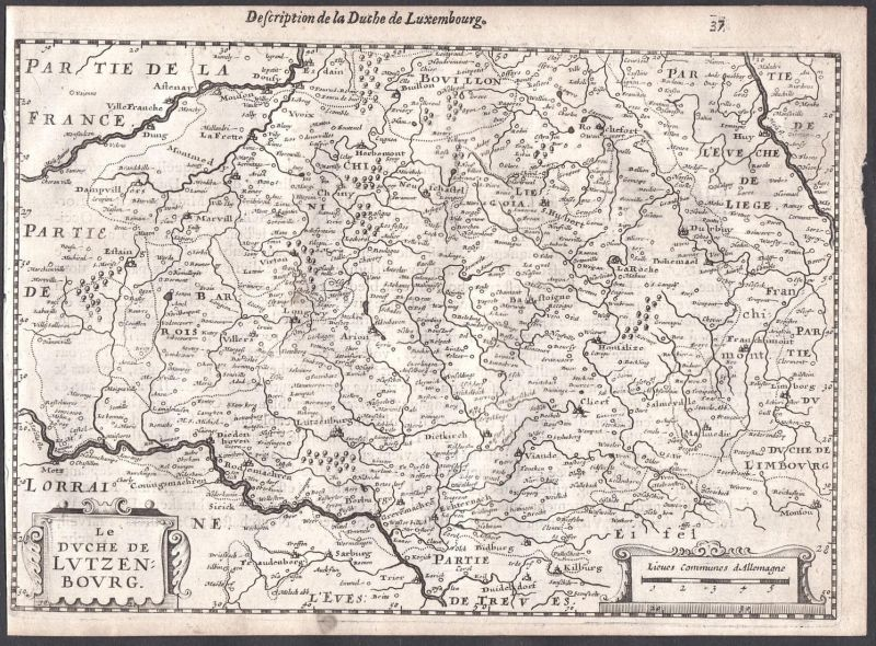 Le Duche de Lutzenbourg - Luxemburg Diekirch Vianden Clerf Belgique France Frankreich Belgien Colom Holland Ne