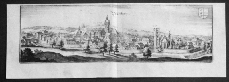 Peuerbach Grieskirchen Kupferstich Merian gravure engraving 0