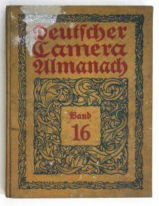 Deutscher Kamera-Almanach. 16. Band.